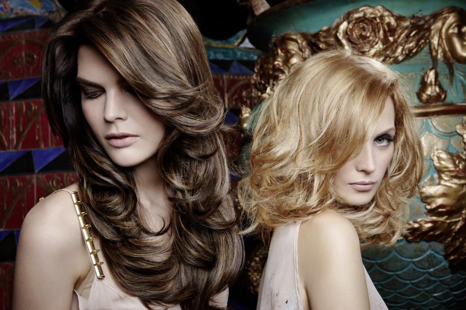 extensions de cheveux ondulées